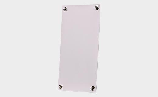 "Mini Metal X-Stand 16"" x 7.5"" Blank"