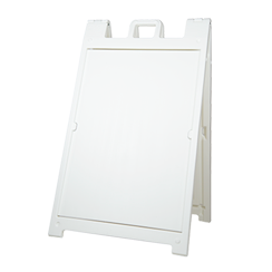 "Signicade Deluxe White, 36"" x 24"""