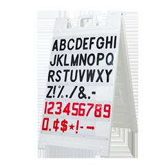"""Signicade Message Board White, 36"""" x 24"""""""