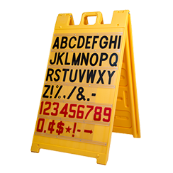 """Signicade Message Board Yellow, 36"""" x 24"""""""