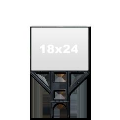 """18"""" x 24"""" Light Plastic Frame"""